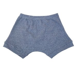 Shorts indigo para bebê