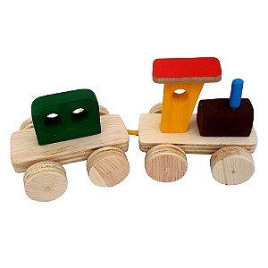 Trenzinho de madeira 2