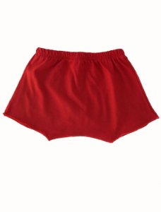 Shorts Vermelho para bebê