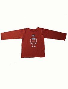 Camiseta Manga Longa Ferrugem