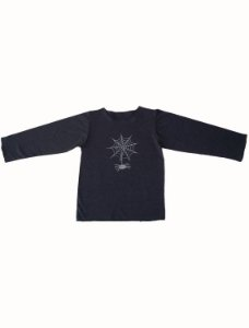 Camiseta Manga Longa Chumbo