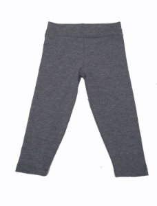 Calça Legging Infantil Cinza para Bbmoderno