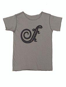 Camiseta Caqui Manga Curta