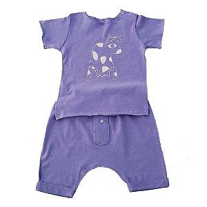 Conjunto Camiseta e calça para bebê