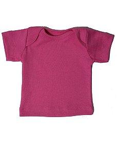 Camiseta Manga Curta Básica para Bebê Maravilha Feminino