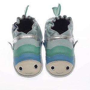 Sapato Babo Uabo Peixinho para bebê