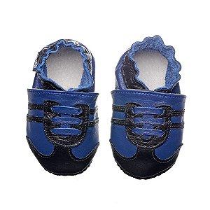 Sapato Babo Uabo Chuteira azul com preto