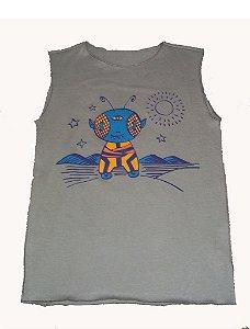 Camiseta Cavada Caqui ET Bbmoderno