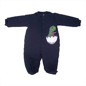 Macacão Esquimó Marinho para bebê
