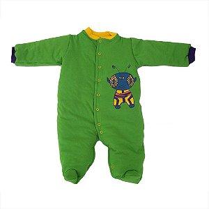 Macacão Esquimó Verde para Bebê