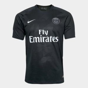 Camisa Paris Saint-Germain Third 17/18 s/n° - Torcedor Nike Masculina