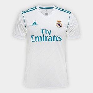 Camisa Do Real Madrid Branca E Cinza Azul Lançamento