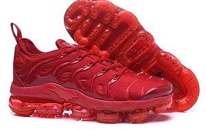 Tênis Nike Air Vapormax Plus Vermelho Masculino Feminino Lançamento 2018