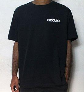 Camiseta OBSCURO Mini Logo Preta