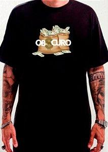 Camiseta OBSCURO Money Preta