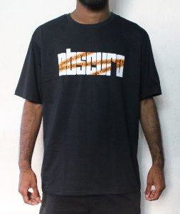 Camiseta OBSCURO Danger Preta