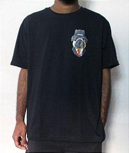 Camiseta OBSCURO Bull Dog Preta