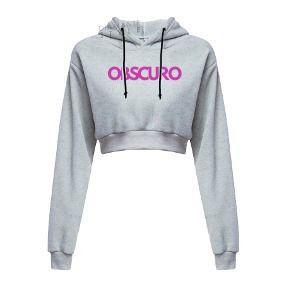 Conjunto Moletom OBSCURO Pink FM Cinza