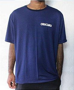 Camiseta OBSCURO Mini Logo Azul