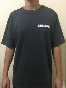 Camiseta OBSCURO Mini Logo Verde Folha