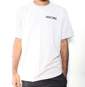Camiseta OBSCURO Mini Logo Creme