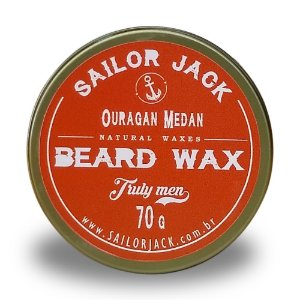 Cera Para Barba Beard Wax Sailor Jack Linha Ouragan Medan - 70g