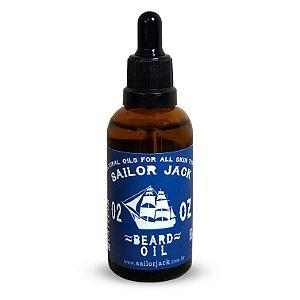 Óleo Para Barba Beard Oil Sailor Jack Linha Montedor - 50ml