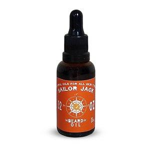 Óleo Para Barba Beard Oil Sailor Jack Linha Ouragan Medan - 30ml