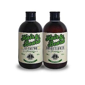 Kit Shampoo e Condicionador Frescor e Força- 250ml