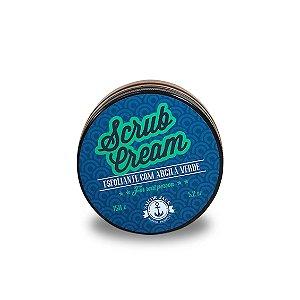 Esfoliante Facial com Argila Verde - Scrub Cream - 150g