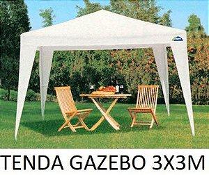 TENDA GAZEBO 3X3 METROS+CADEIRA ESPREGUIÇADEIRA