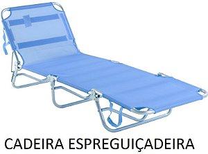 Cadeira Espreguiçadeira Belfix Alumínio Dobrável