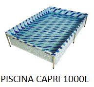 PISCINA CAPRI 1000L ESTRUTURA DE FERRO