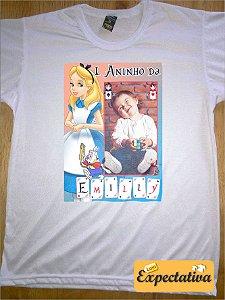 Camiseta Personalizada de Aniversário Alice - 02