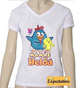 Camiseta Personalizada de Aniversário Galinha Pintadinha - 02