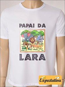 Camiseta Personalizada de Aniversário Safari - 01