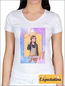 Camiseta Personalizada de Aniversário Unicórnio - 02