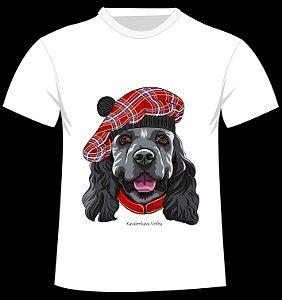 Camiseta Cocker Spaniel da artista Kavalenkava Volha