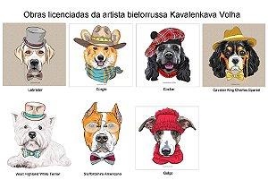 Cachorros da artista bielorrussa Kavalenkava Volha
