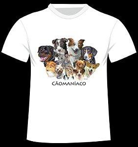 Camiseta Cãomaníaco