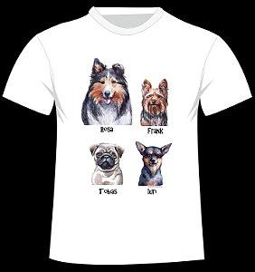 Camiseta Monte Sua Família de 4 Patas