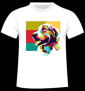 Camiseta Cachorro Geométrico