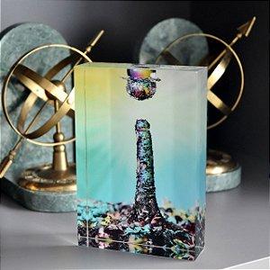 Fotobloco Colisão de Texturas da artista Andrea Laybauer