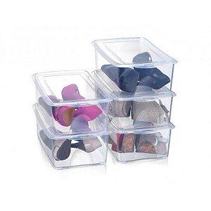 Caixa para Sapatos Empilhável Kit com 5 Peças - Arthi