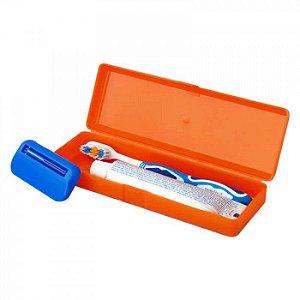 Estojo Porta Escova de Dente e Creme Dental