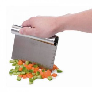 Faca com Lamina Fixa para Legumes e Massas - Chop and Scoop