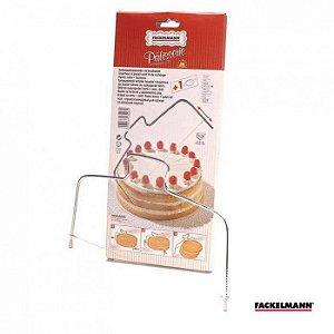 Fatiador Manual para Bolos e Tortas Patisserie - Fackelmann