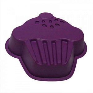 Forma de Silicone para Bolo e Torta em Forma de Cupcake