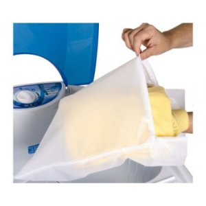 Saco para Lavar Roupas 70x50cm Ótimo para Roupas de Bebês