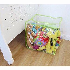Kit Com 10 Organizadores De Brinquedos 40x40cm